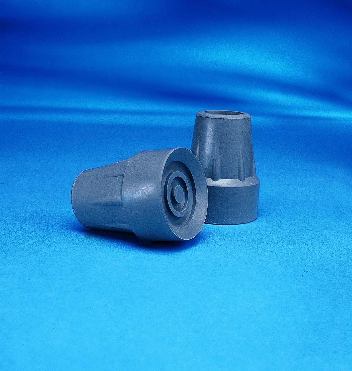 INV6134 - Rubber Crutch Tip, Large 1-3/4, Gray, Manufacturer: Invacare Corporation By Invacare Ship from US