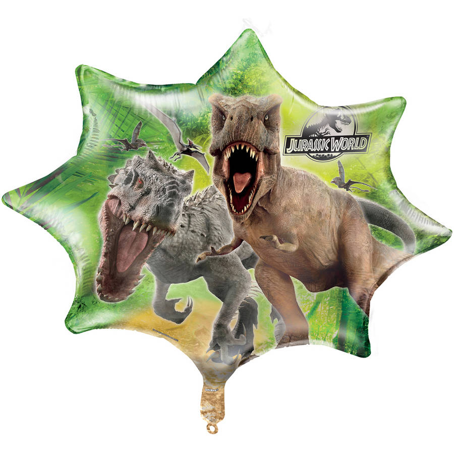 "28"" Jumbo Foil Jurassic World Balloon"