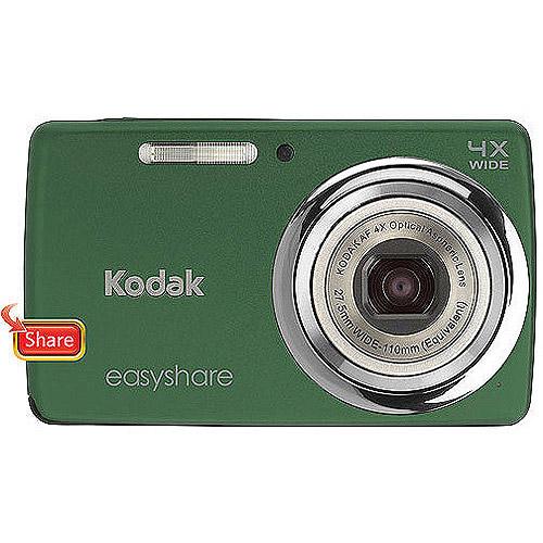 "Kodak EasyShare M532 Green 14MP Digital Camera w/ 4x Optical Zoom, 2.7"" LCD Display"