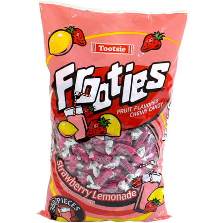 Tootsie Frooties Strawberry Lemonade Fruit Flavored Chewy Candy  360 Count