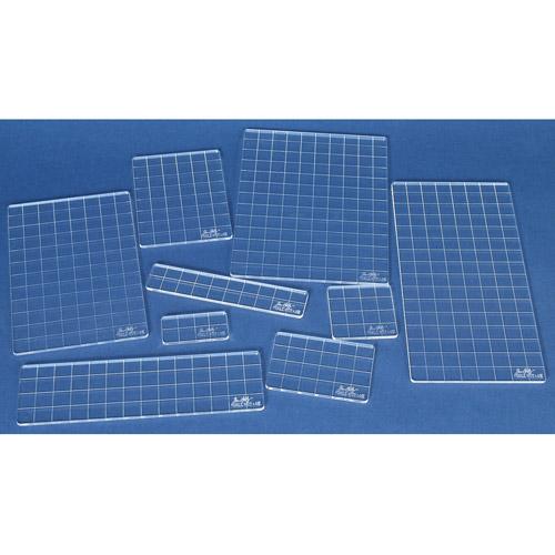 Tim Holtz Acrylic Grid Block Set , 9 Pieces