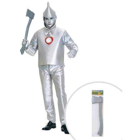 Wizard Of Oz Tin Man Adult Plus Size With Axe for $<!---->