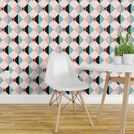 Peel and Stick Removable Wallpaper Modernism Mid Century Midcentury Mi