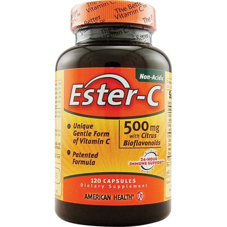 American Health American Health Ester-C with Citrus Bioflavonoids - 500 mg - 120 Capsules ()