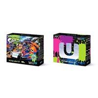 Refurbished Nintendo Wii U 32GB Splatoon Deluxe Set Black