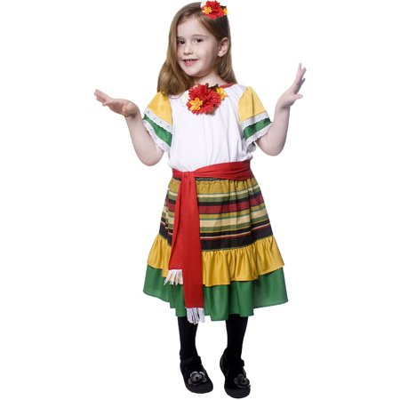 Mariachi Dancer Toddler Costume](Mariachi Dress)