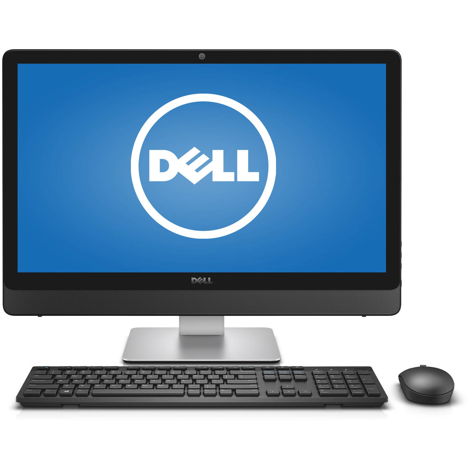 "Dell Silver Inspiron 5459 All-In-One Desktop PC with Intel Core i5-6400T Processor, 8GB Memory, 23.8"" touch screen Display, 1TB Hard Drive and Windows 10 Home"