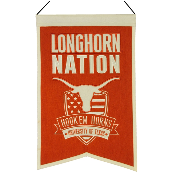 NCAA Nations Banner, University of Texas Longhorns