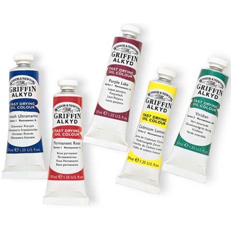 Winsor & Newton - Griffin Alkyd Color - 37ml Tube - Burnt Umber