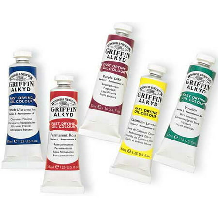 Winsor & Newton - Griffin Alkyd Color - 37ml Tube - Yellow Ochre
