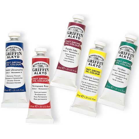 Winsor & Newton - Griffin Alkyd Color - 37ml Tube - Van Dyke Brown