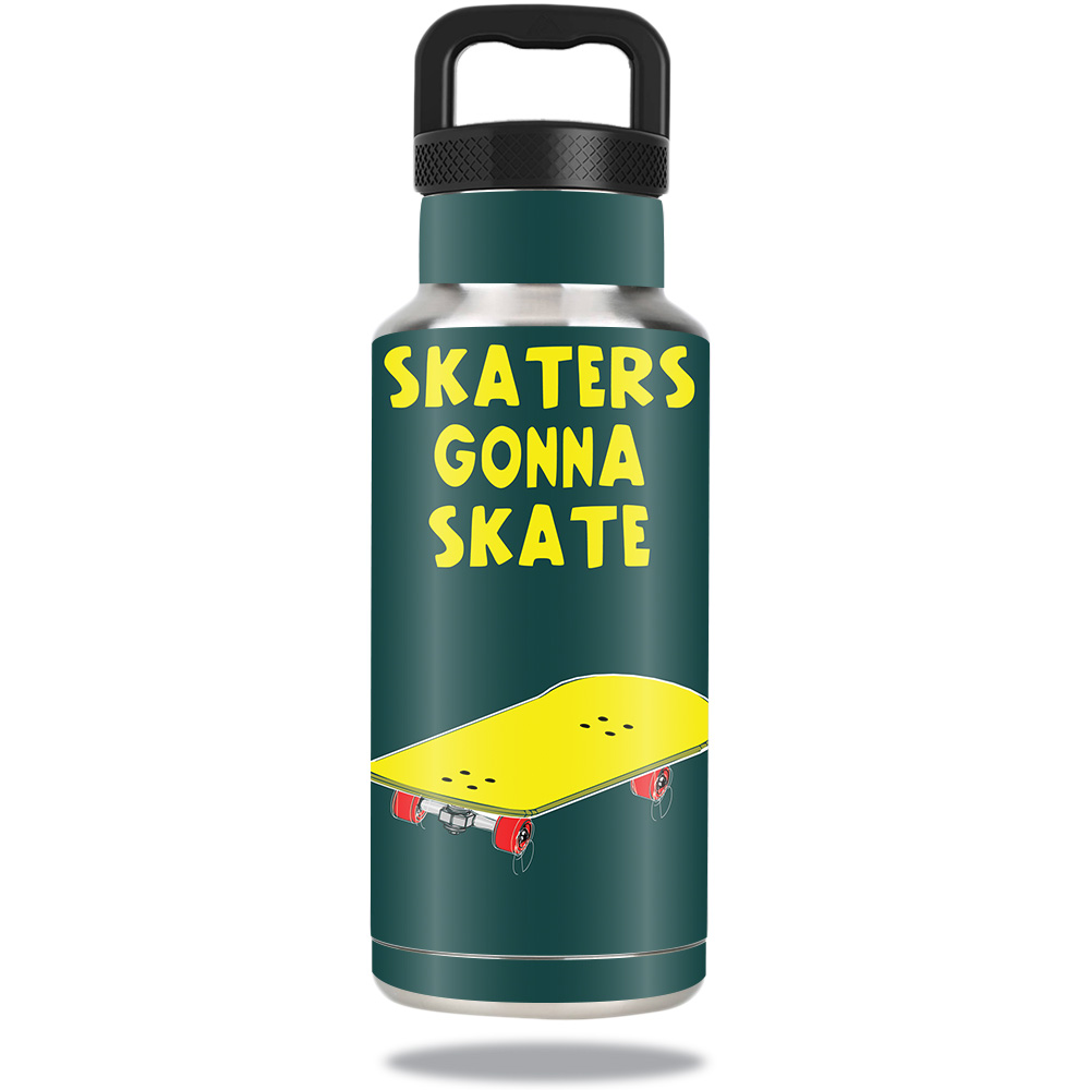 Skin For Ozark Trail Water Bottle 36 oz � Skaters Gonna Skate | MightySkins Protective, Durable, and Unique Vinyl Decal... by MightySkins