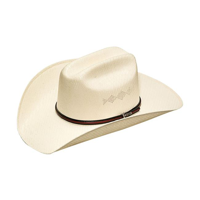 Twister 5X Shantung Double S Straw Cowboy Hat T71563
