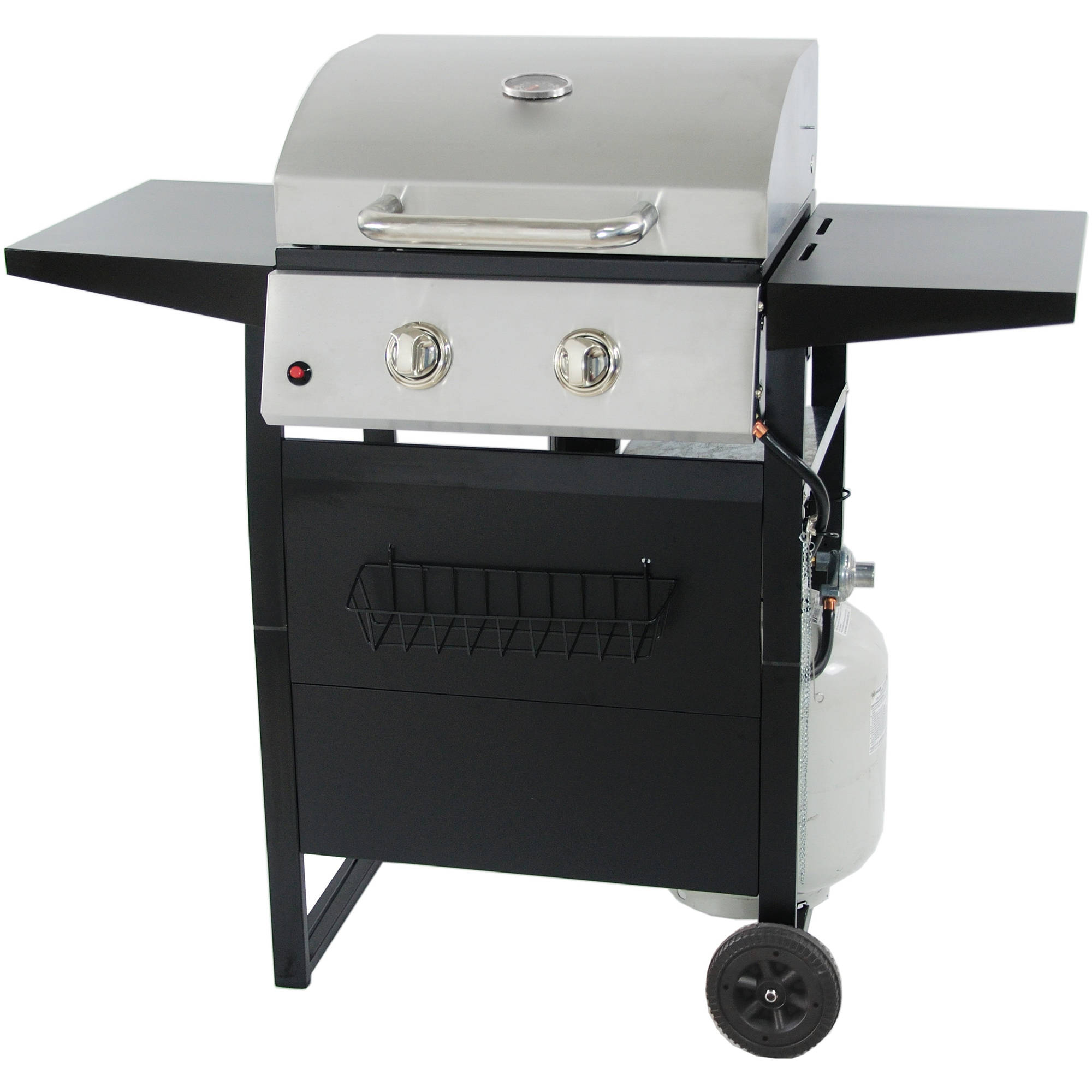 RevoAce 2-Burner LP Gas Grill with Stainless Steel by