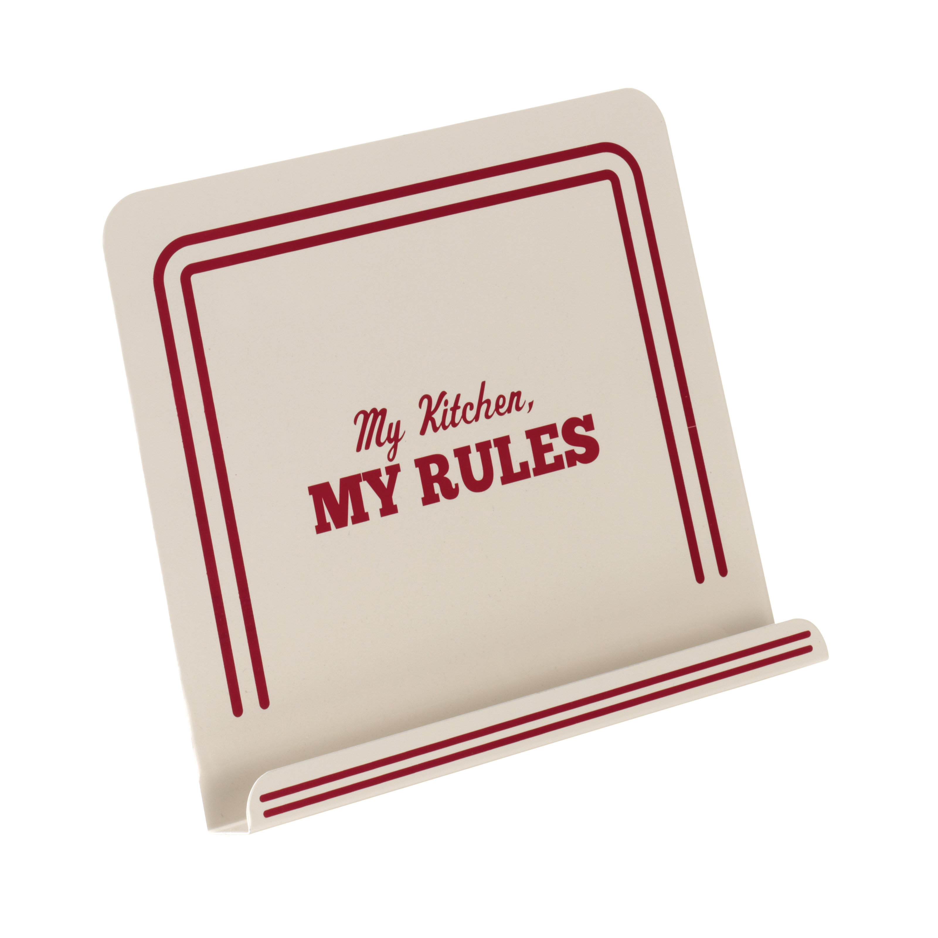 Cake Boss Countertop Accessories Cookbook Stand, My Kitchen, My Rules
