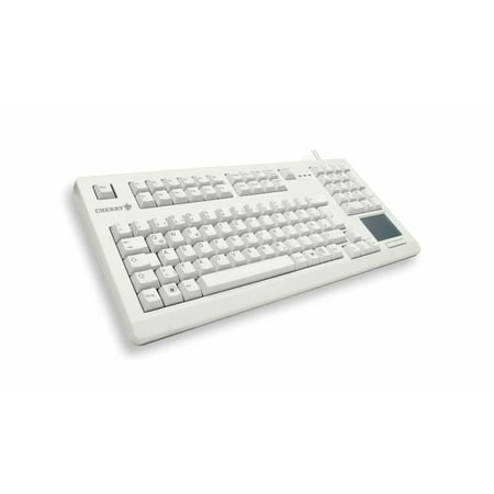 Cherry 16″ PS2 keyboard with Touchpad, Light Grey Light Gray Cherry