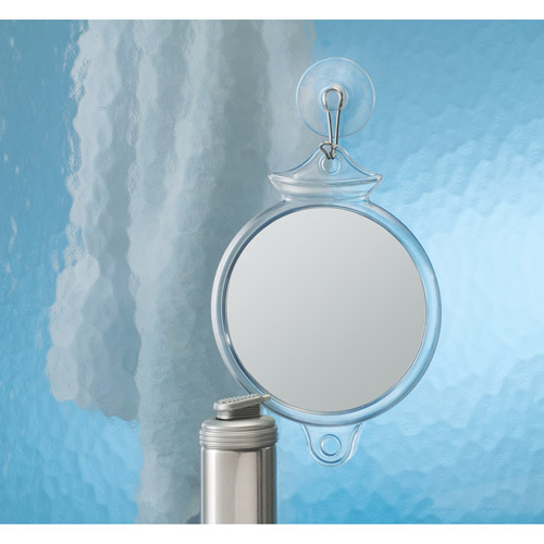 InterDesign Fog Away Suction Mirror