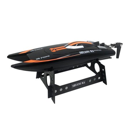 Double Horse 7014 2.4Ghz Radio Remote Control Speed Rowing RC Boat Waterproof R/C Ready To Run (Balaenoptera Musculus Rc Boat)