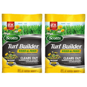 2-Pack Scotts 43 lb. 15000 sq. ft. Turf Builder Weed & Feed Fertilizer