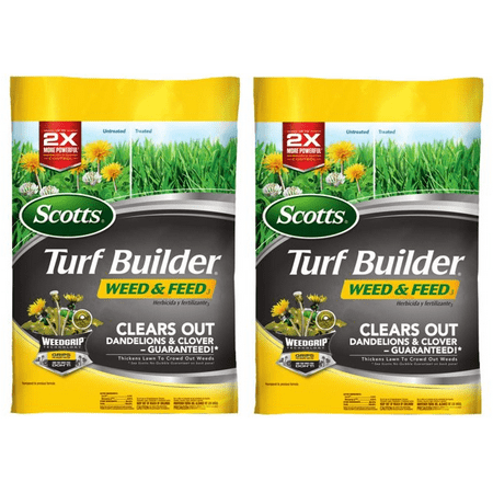 Scotts Turf Builder Weed & Feed,15,000 sq. feet (2