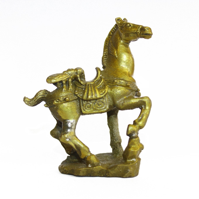 Brass Fly on Horse Statue - image 1 de 1