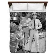 Andy Griffith Lawmen Queen Duvet Cover White 88X88