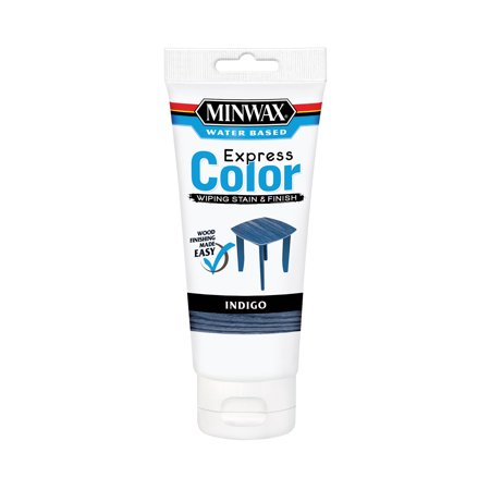Minwax® Express Color™ Wiping Stain & Finish Indigo, 6-Oz
