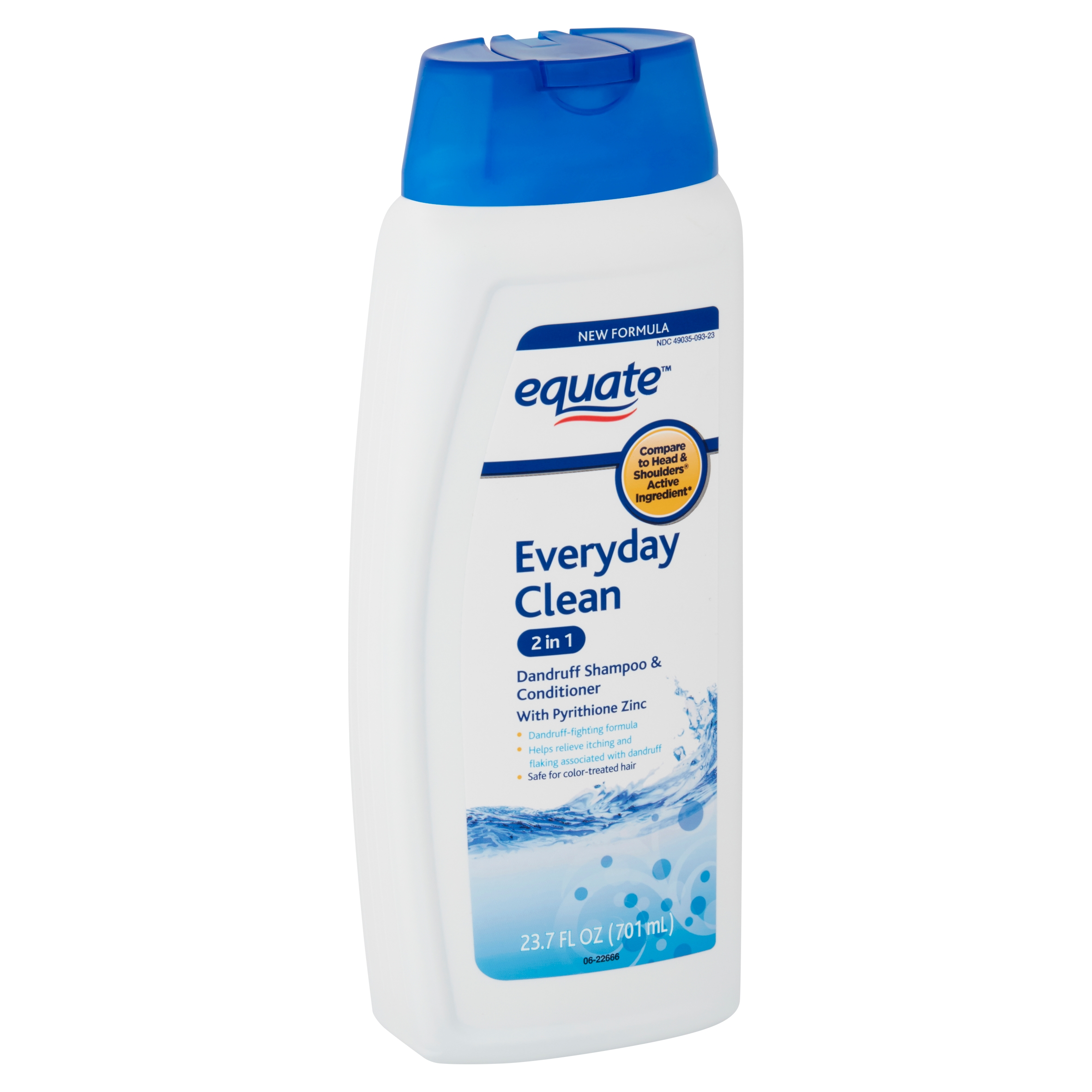 Equate Everyday Clean 2 in 1 Dandruff Shampoo & Conditioner, 23.7 fl oz