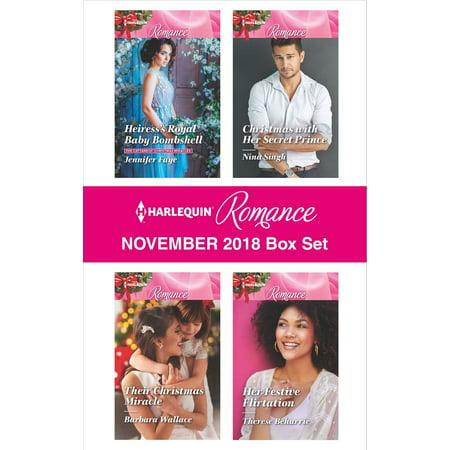 Harlequin Romance November 2018 Box Set - (Amrita Singh Set)