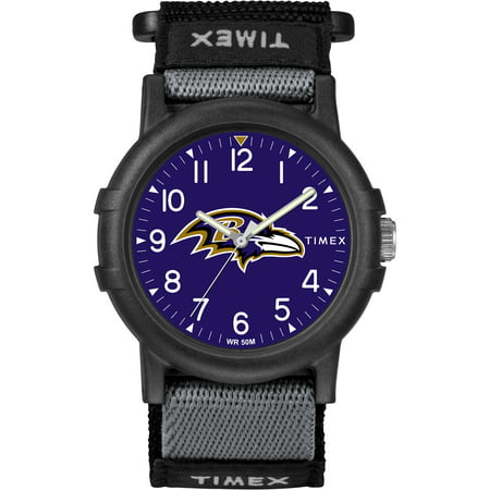 Timex - NFL Tribute Collection Recruite Youth Watch, Baltimore Ravens (Baltimore Ravens Fan Series Watch)