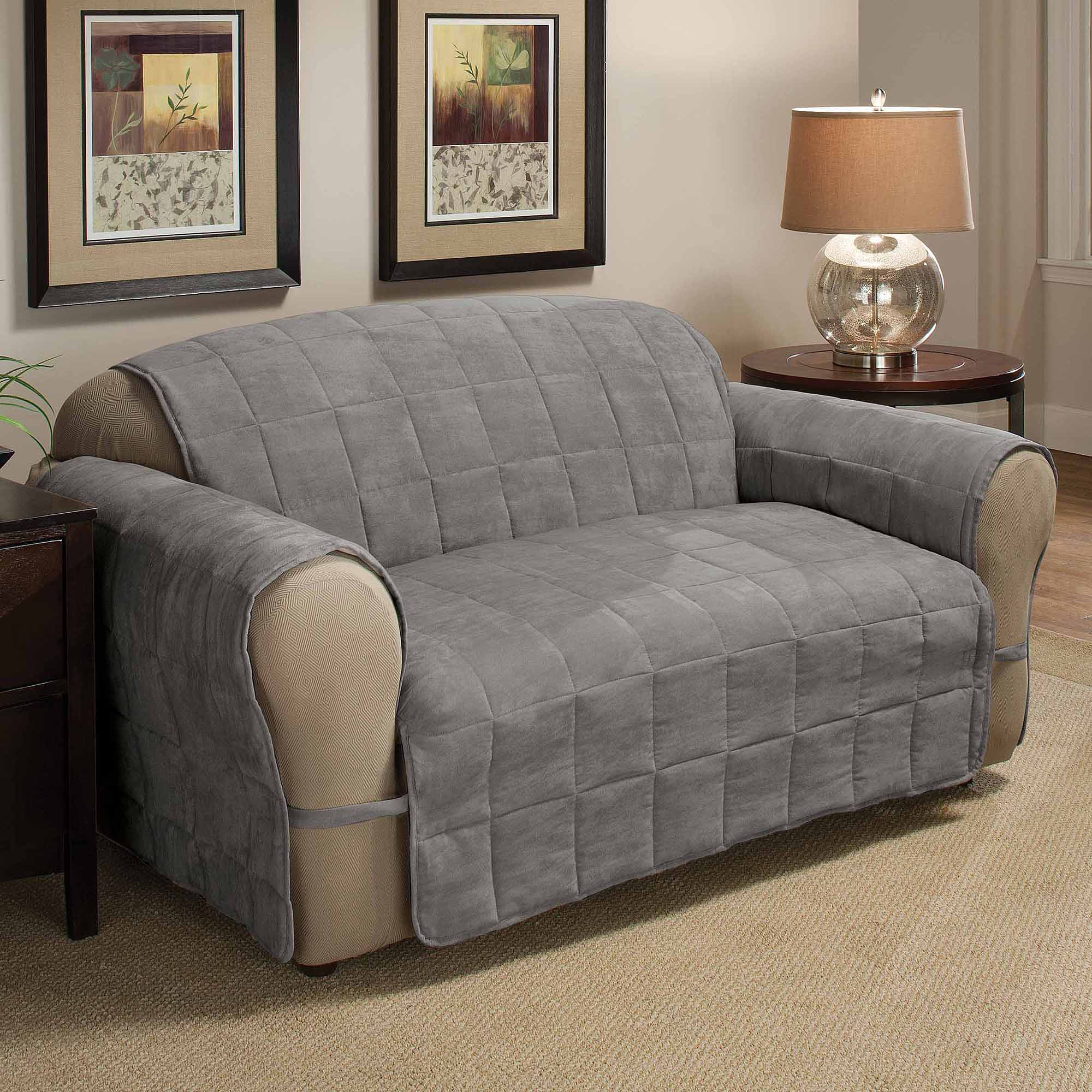 "FURNITURE PROTECTOR DOUBLE SIDE SOFA COVER 75x110"" Walmart"