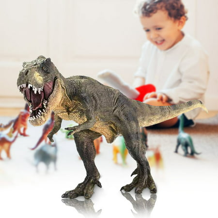 Vivid Tyrannosaurus Rex Jurassic Dinosaur Toy Figure Animal Model Kid Play Gift - T Rex Model