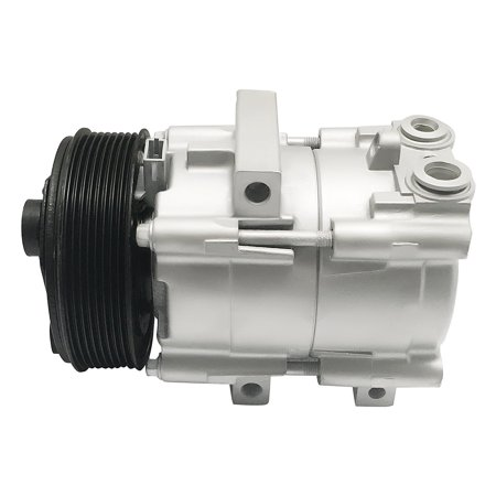 RYC Remanufactured AC Compressor and A/C Clutch EG152 Fits 1999, 2000, 2001, 2002, 2003, 2004, 2005, 2006, and 2007 Ford F-350 Super Duty 6.8L (With 8 Groove Pulley) (2001 Ford F350 Super Duty)