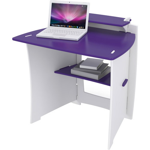 Legare Select Kids' Desk, Purple and White by Legare Furniture