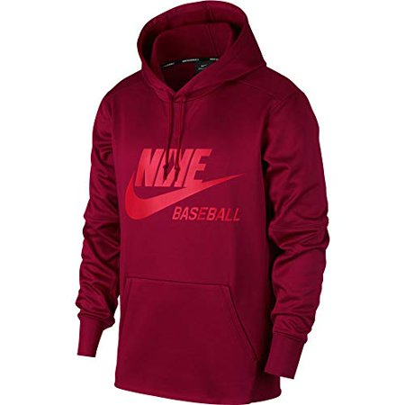 Nike Men's Baseball Pullover Hoodie Nike - Ships Directly From Nike NIKE Men's Baseball Pullover Hoodie