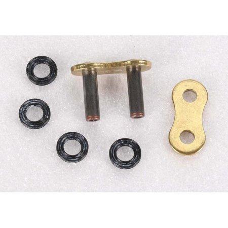 JT Drive Chain JTC520Z1RGGRL Rivet Connecting Link for 520 Z1R Super Heavy Duty X-Ring Drive Chain - Gold (Super Lag Renewable Link)