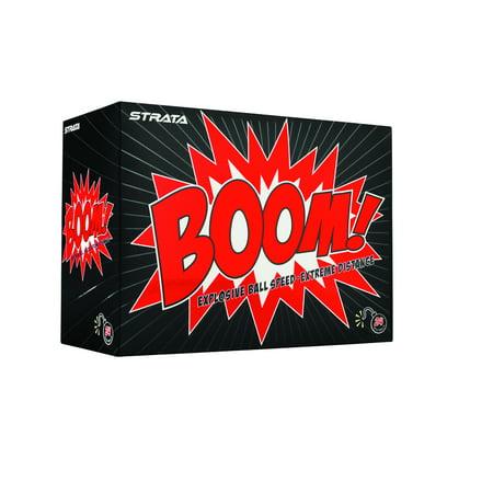 Callaway Strata Boom Golf Balls, 24 Pack
