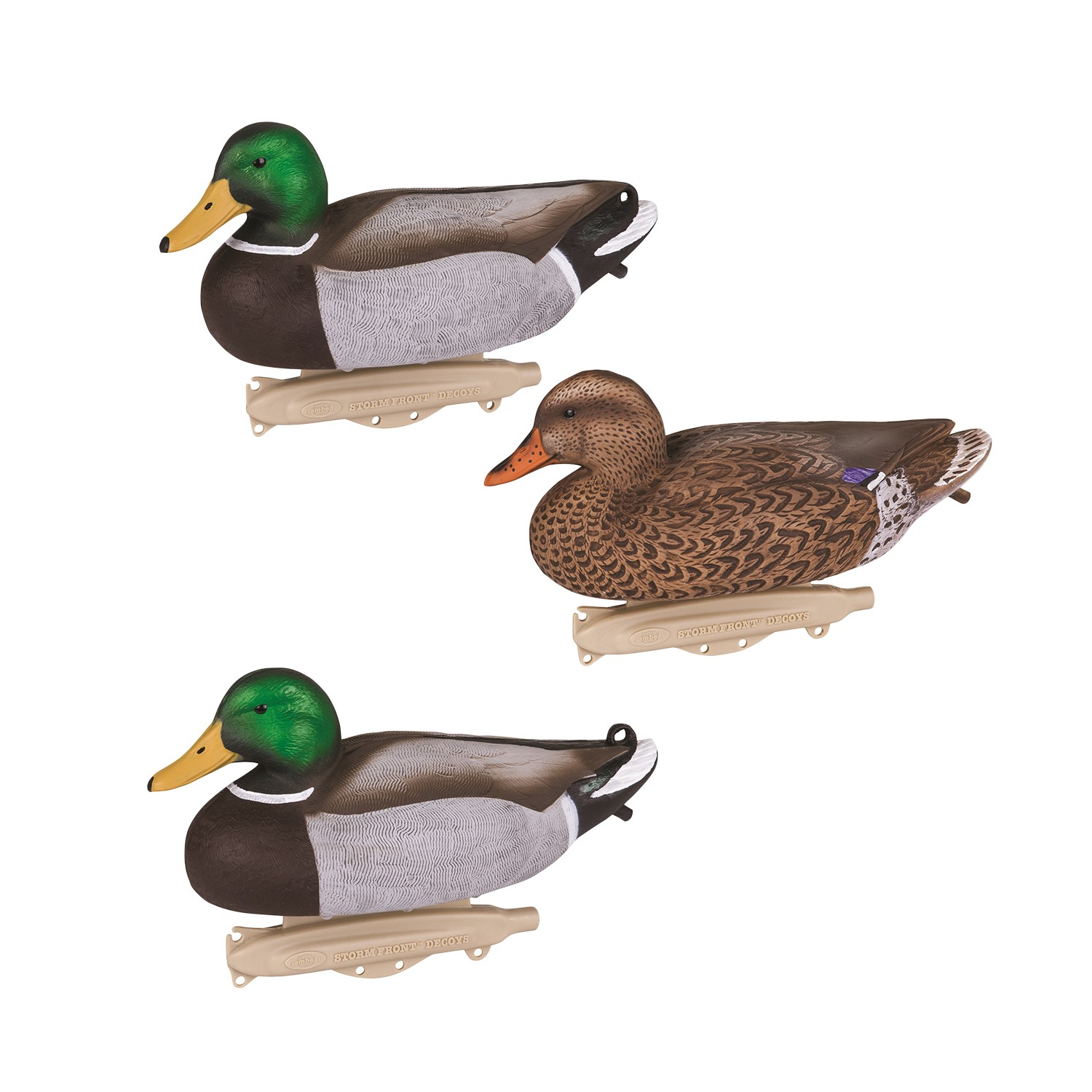 Flambeau Storm Front Classic Mallard Decoys -12 Count 8030SUV