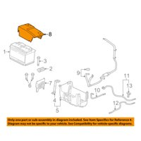 GM OEM-Battery Terminal or Box Cover 22961810