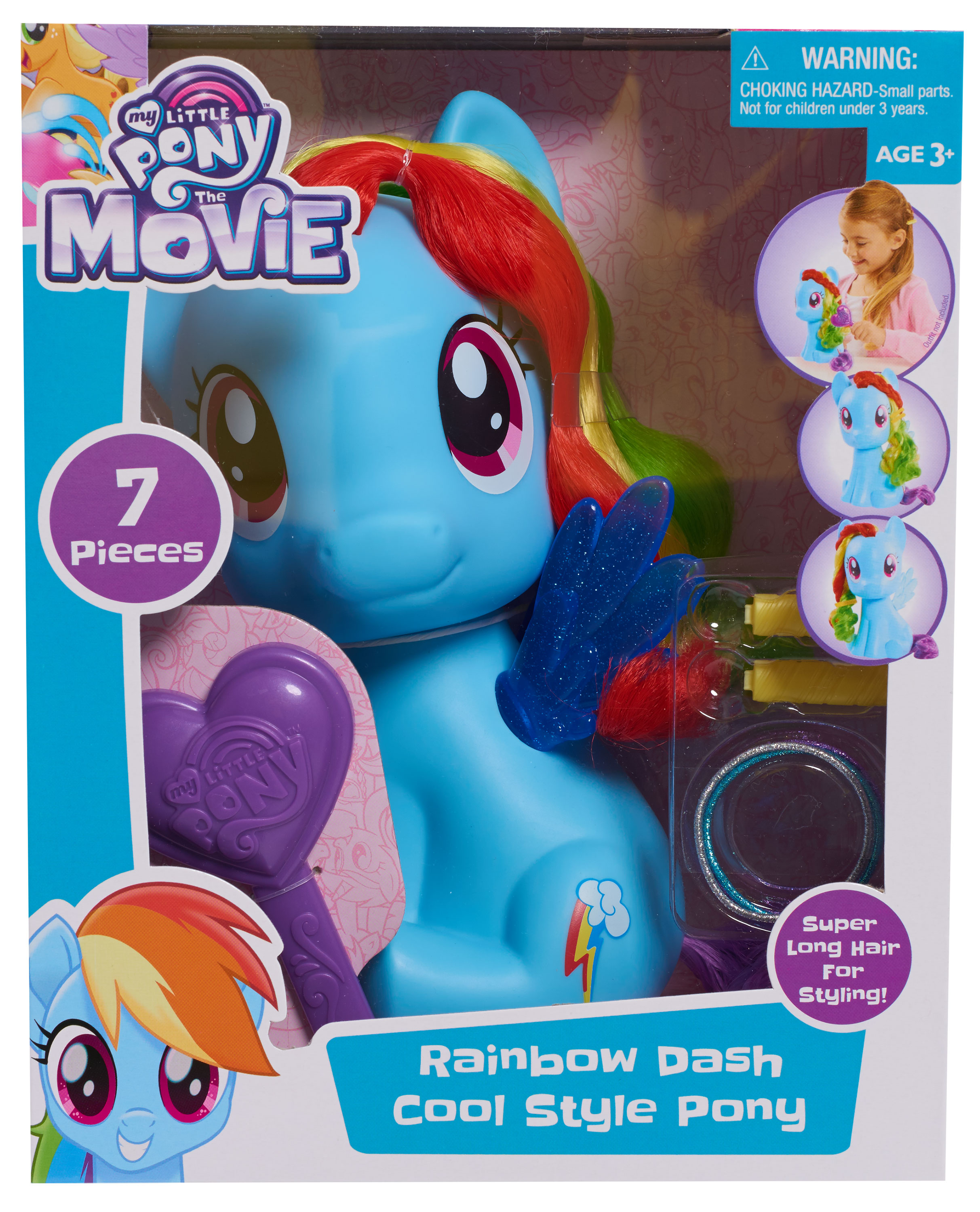 My Little Pony Rainbow Dash Styling Pony by Just Play