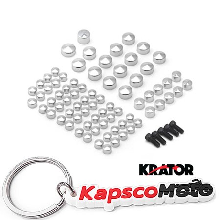 Krator 2007& UP Harley Davidson FLT FLH Chrome Bolts