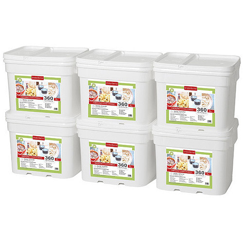 Lindon Farms 2160 Servings Freeze Dried Food Survival Emergency Storage Meals
