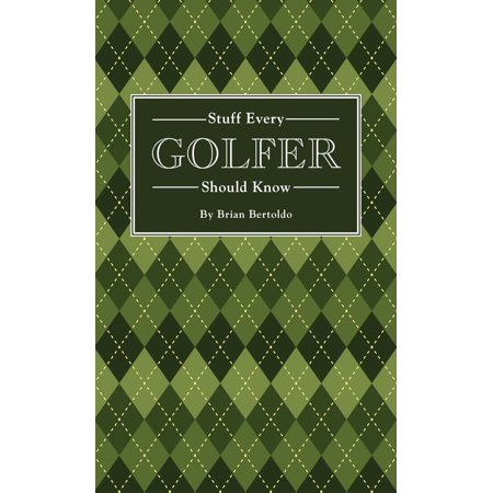 Golfer Award (Stuff Every Golfer Should Know )