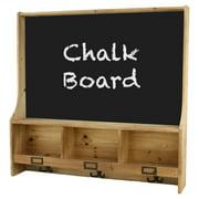 Aspire Home Accents Cambridge Shelf with Chalk Board