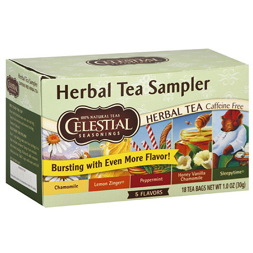 Celestial Seasonings Herbal Tea Sampler, 20ct (Pack of 6)