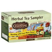 Celestial Seasonings Herbal Tea Sampler, 20ct (Pack of 6)