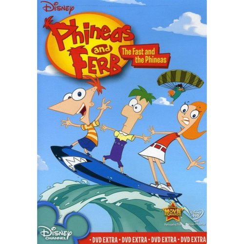 Phineas And Ferb: The Fast And The Phineas (Full Frame)