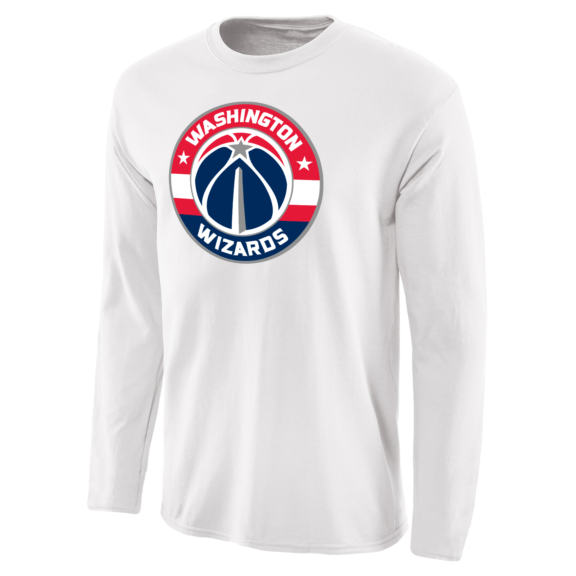 Washington Wizards Fanatics Branded Primary Logo Long Sleeve T-Shirt - White
