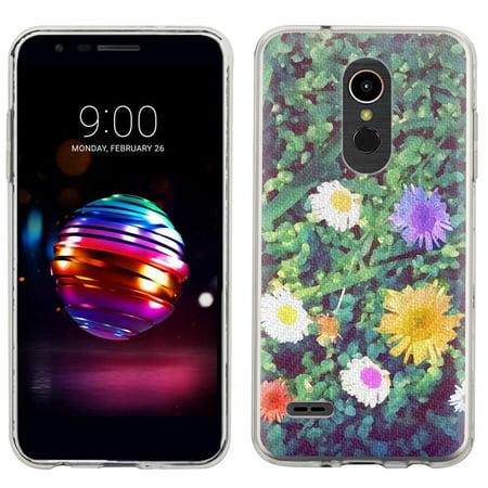 Slim-Fit Case for LG K30 / LG Premier PRO LTE, OneToughShield ® Scratch-Resistant TPU Protective Phone Case - Daisy - Daisy Protective Case