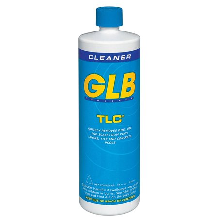 GLB Pool and Spa Products 71028 1-Quart TLC Pool Water Cleaner, TLC combines a powerful cleaner with an extra-thick formula for the most effective cleaning By GLB Pool & Spa Products